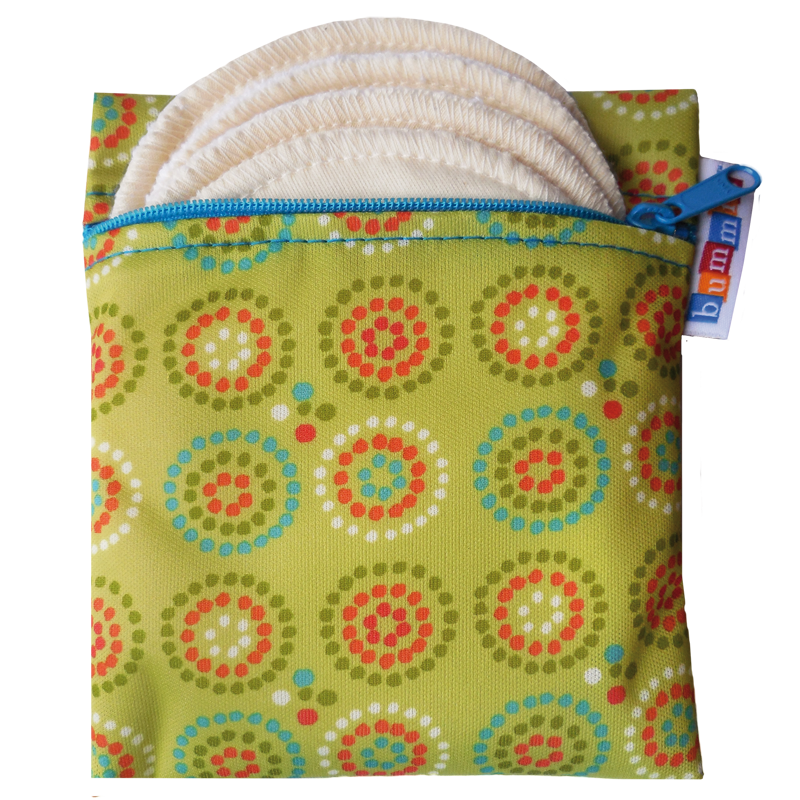 Breast Pad Travel Pack - Green