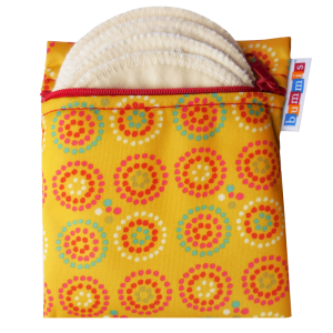 Breast Pad Travel Pack - Yellow