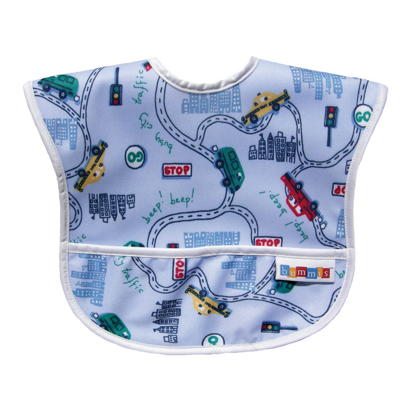 Bummis Best-Ever Bib - Big City