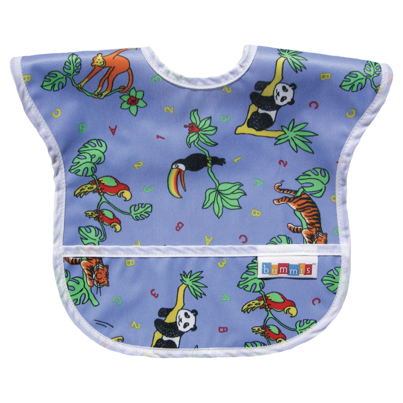 Bummis Best-Ever Bib - Jungle