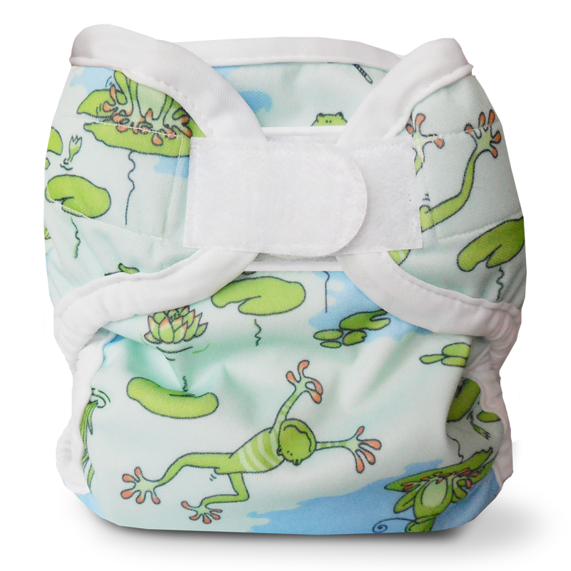 Super Whisper Wrap - Froggy Pond