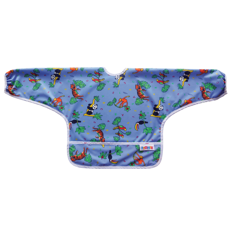 Bummis Best-Ever Bib Sleeved - Jungle