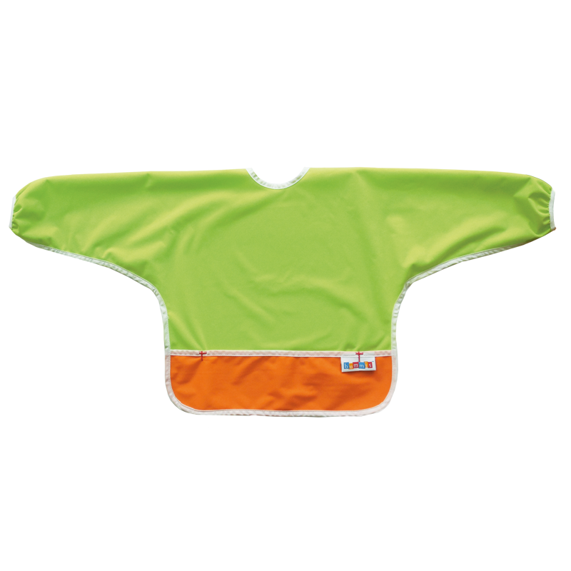 Best Ever Bib Sleeved - Lime