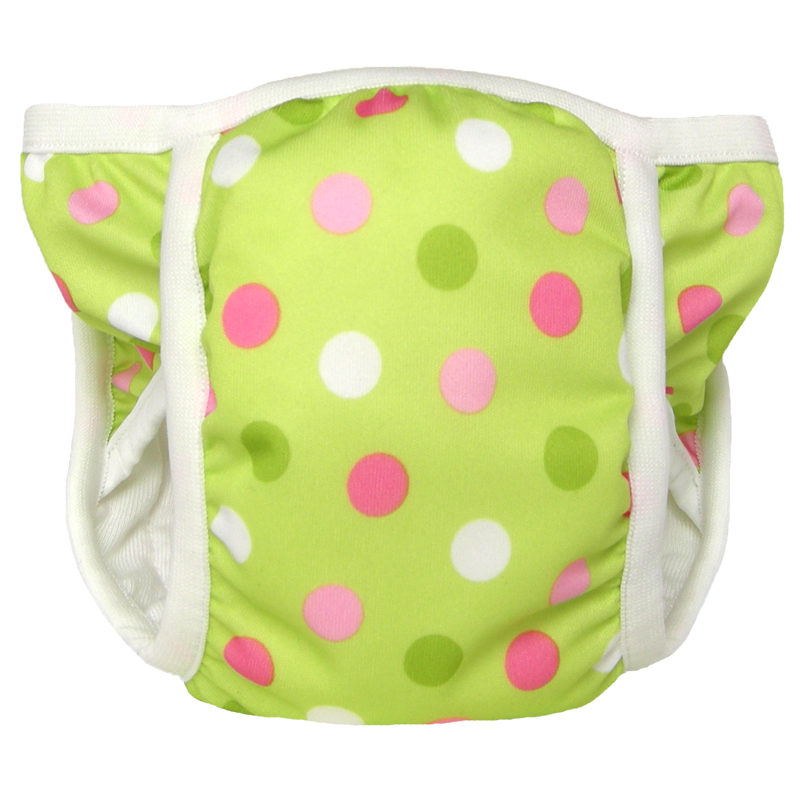Potty Pant - Pistachio Dot
