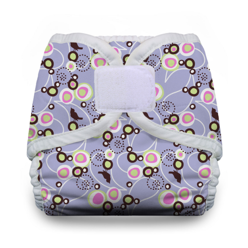Thirsties Diaper Covers Hook and Loop - Lavender
