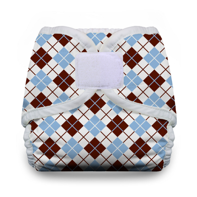 Thirsties Diaper Covers Hook and Loop - Scottish Storm