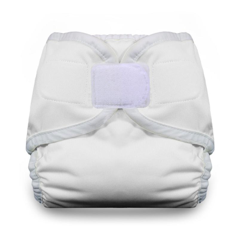 Thirsties Diaper Covers Hook and Loop - White