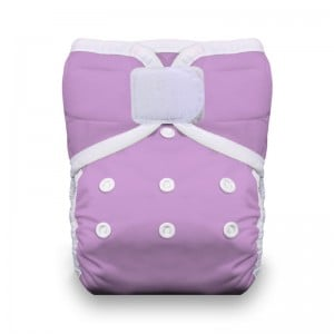 Thirsties One Size Pocket Diaper Hook and Loop - Orchid