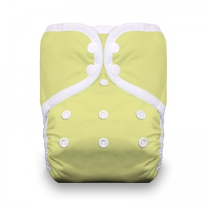 Thirsties One Size Pocket Diaper Snap - Honeydew