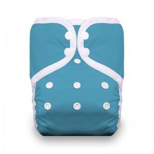 Thirsties Diaper Covers Snap - Ocean Blue