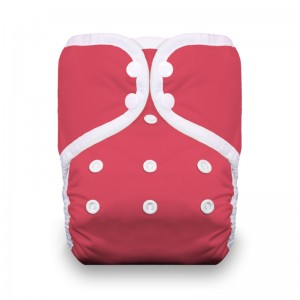 Thirsties One Size Pocket Diaper Snap - Rose