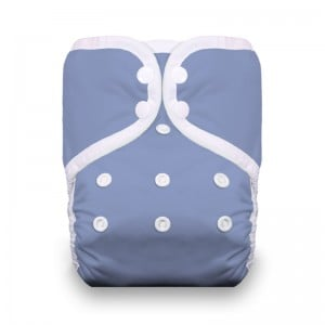 Thirsties Diaper Covers Snap - Storm Cloud
