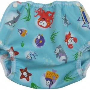 Mother-ease Air Flow Snap Cover (Oceans print)