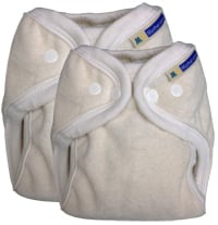 Mother-ease EconoME fitted diapers - two sizes