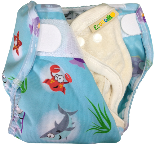 Mother-ease EconoME with Rikki Slim cover (Oceans print)