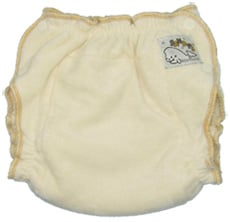 Mother-ease Sandy's Fitted Diaper - Bamboo