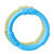 Lifefactory Teething Ring - blue and green