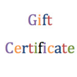 Gift Certificate Web Image