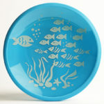 Brinware plate - fish